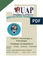 Sociologia y Psicologia Real
