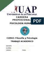 Filosofia y Psicologia