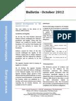 STL Bulletin - October 2012
