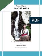 Panduan Ringkas Mantra Yoga