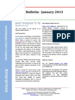 STL Bulletin - January 2013