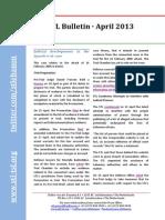 STL Bulletin - April 2013