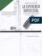 La Experiencia Homosexual Marina Castaneda-libre