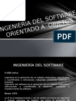 Ingeniería del Software POO