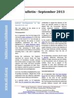 STL Bulletin - September 2013