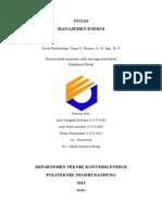 Manajemen Energi pada Chiller dan Penerangan