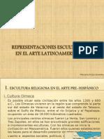 RESENTACIONES ESCULTÓRICAS  EN EL ARTE LATINOAMERICANO.