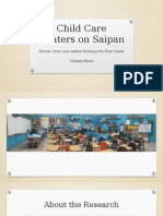 Child Care Centers on Saipan