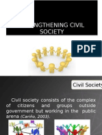 3.1Strengthening Civil Society