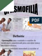 Spasmofilia Gutu