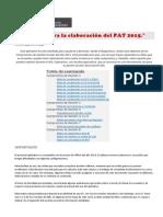 MACR+APLICATIVO PAT 2015+INI+PRI
