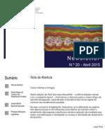 Newsletter CAMMP n.º 20 de abril de 2015