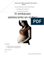 Embarazo adolescente en el Perú