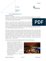 Discovery SLO Business Plan - Executive Summary vs-1