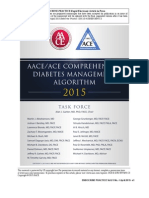 Aace Algorithm Diabetes