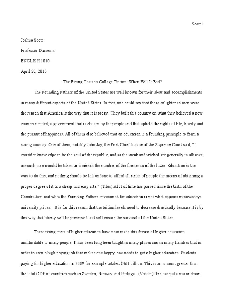 Compare contrast research paper thesis