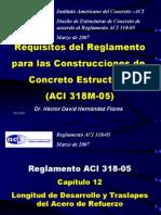 ACI Longitud de Desarrollo 05