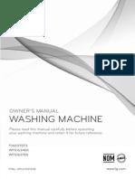 Lg WFS1637EK washing machine