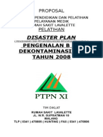 Proposal Disaster Plan 2008