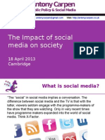 2 Impact of Social Media on Society