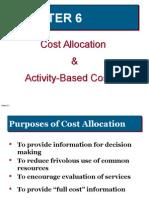 Cost Allocation