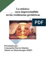 La Musica Asignatura Imprescindible en Las Residencias Geriatricas