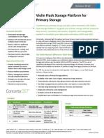Violin Flash Storage Platform for Primary Storage