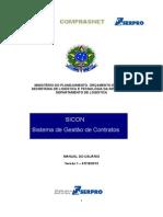 Manual Sicon Sistema de Gestao de Contrato 2013