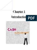 Cash Management of Bank Of India