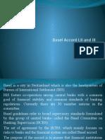Basel Accord I II III