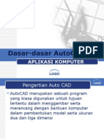 Dasar Dasar AutoCAD
