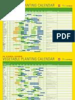 osse planting calendar 28x20