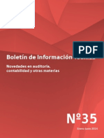 BoletinTecnico2014 Auditoria y Contabilidad