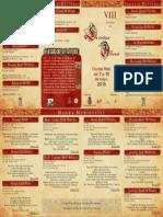 VIII Jornadas de Cocina Alfonsí 2015