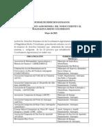 Informe Derechos Humanos Agrominera
