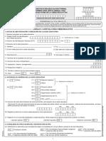 Formulario Unico Dane c600 15 Sep 2014