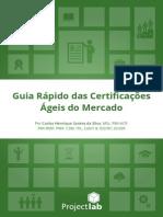 Guia Rapido Das Certificacoes Ageis Do Mercado