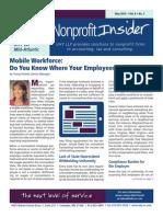 Nonprofit Insider - May 2015