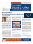 Government Contractor Insider - April 2015