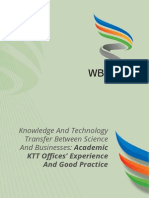 13933172475858 Knowledge and Technology Transfer Between Science and Businesses Academic Ktt Offices Experience and Good Practise