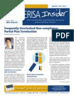 ERISA Insider - April 2015