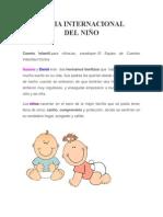 El Dia Internacional Del niño