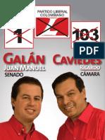 Afiche con fórmula de Cundinamarca