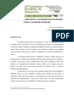 Denys Silva Nogueira - Da Ideologia Urbanistica Ao Projeto de Sociedade Urbana Em Henri Lefebvre