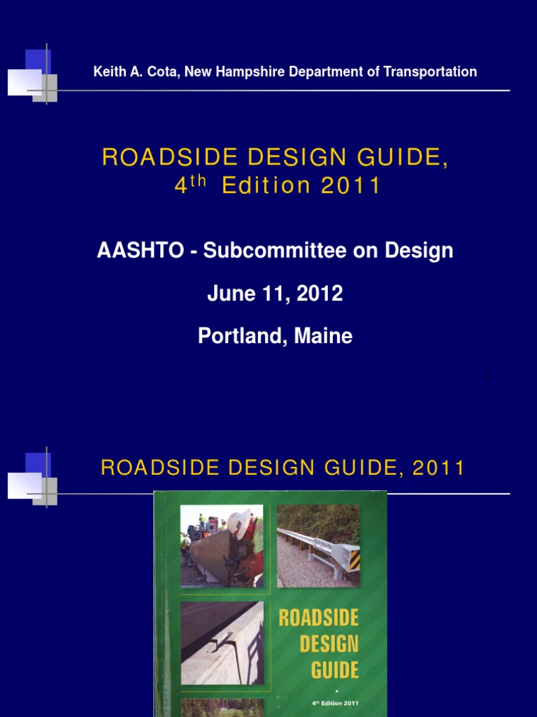 Download Aashto Roadside Design Guide 4Th Edition Pdf Software