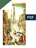 8th grade history - boston massacre engraving