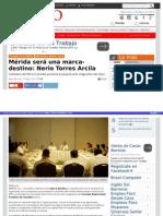 06-05-2015 Mérida será una marca-destino