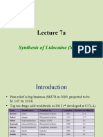 Chem 30CL-Lecture 7a Lidocaine 1