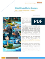 The European DSM Strategy