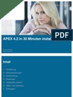 MT AG - Installation APEX 4.2